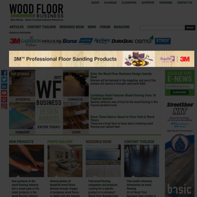 Wood Floor Business Leaderboard example