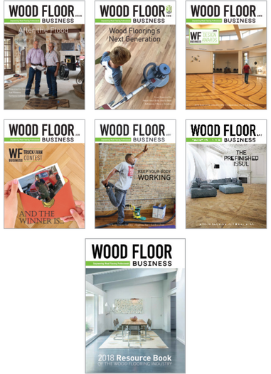 Wood Floor Business Cover Art 2016