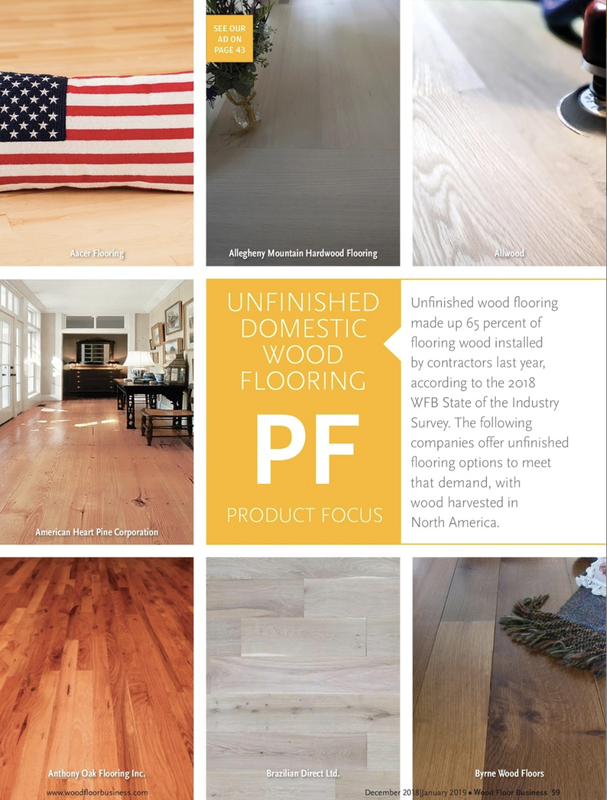 Wood Floor Business Product Focus